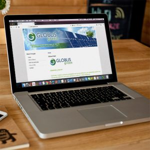 Web Globus Green